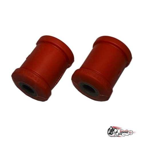 Втулки заднего амортизатора (алюминька) ВАЗ 2108-21099/2114/2115 (2шт) Полиуретан красный drive