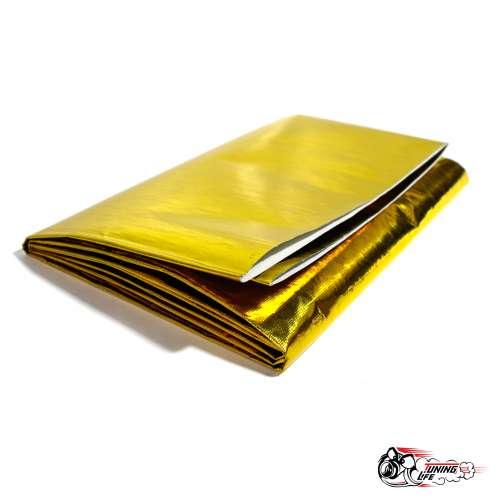 Термоэкран самоклеящийся алюминизированный золотой