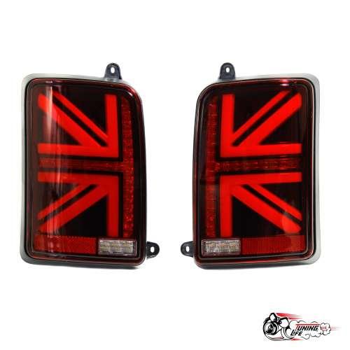 Фонари задние светодиодные НИВА в стиле MINI (красные)