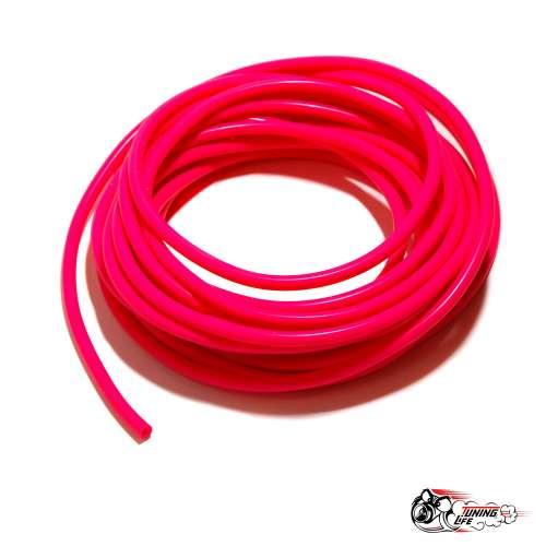 Вакуумный шланг, розовый 4 мм