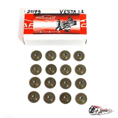 Тарелки клапанов 21179 ЛАДА Веста 1.8 особо прочные, облегченные