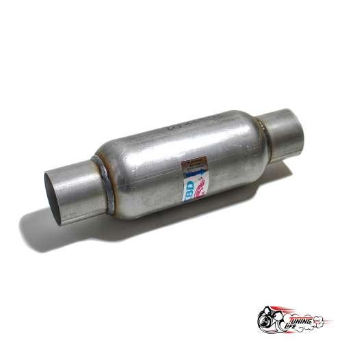 Стронгер пламегаситель 300х60 мм с жаброобразным внутренним узлом