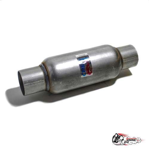 Стронгер пламегаситель 300х65 мм с жаброобразным внутренним узлом