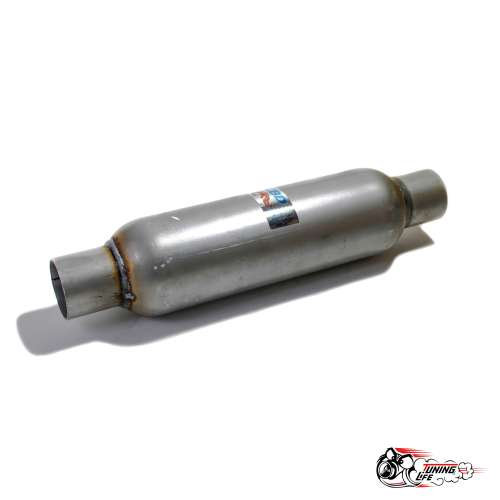 Стронгер пламегаситель 400х50 мм с жаброобразным внутренним узлом