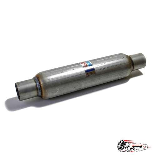 Стронгер пламегаситель 400х55 мм с жаброобразным внутренним узлом