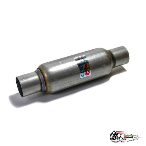 Стронгер пламегаситель 300x50 мм с жаброобразным внутренним узлом