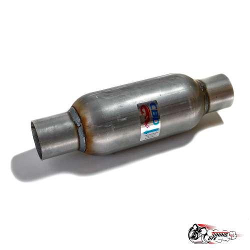 Стронгер пламегаситель 300х55 мм с жаброобразным внутренним узлом