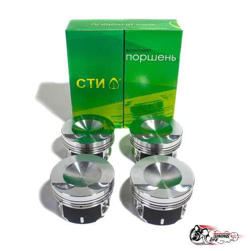 Поршни СТИ 320.05 (VolksWagen, CAWA 2.0TSI, 82,5, valve=std, кольца 1,2/1,5/2,0)