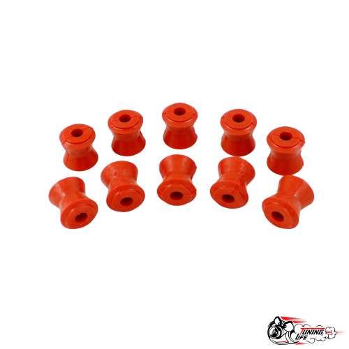 Втулки реактивных тяг ВАЗ 2101,НИВА,Шевроле НИВА  (10шт) красный