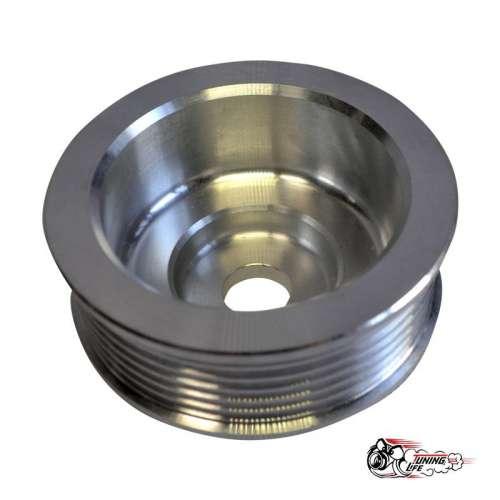 Шкив генератора увеличенного диаметра под генератор Ф17, алюминий