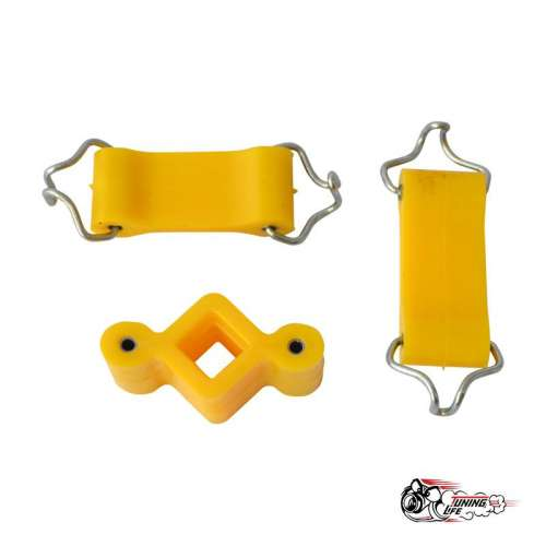 Крепление глушителя ВАЗ 2101- 2107 (3 шт) желтый