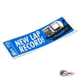 Стикер New Lap Record