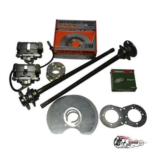 Задние дисковые тормоза ВАЗ 2101-2107 (под гидравлический ручник)