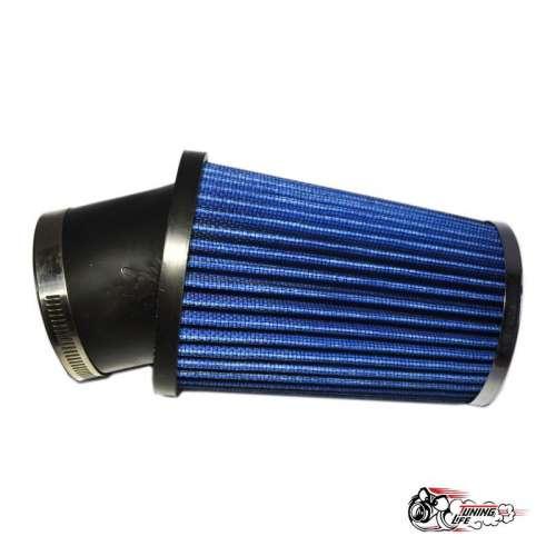 Фильтр нулевого сопротивления угловой синий