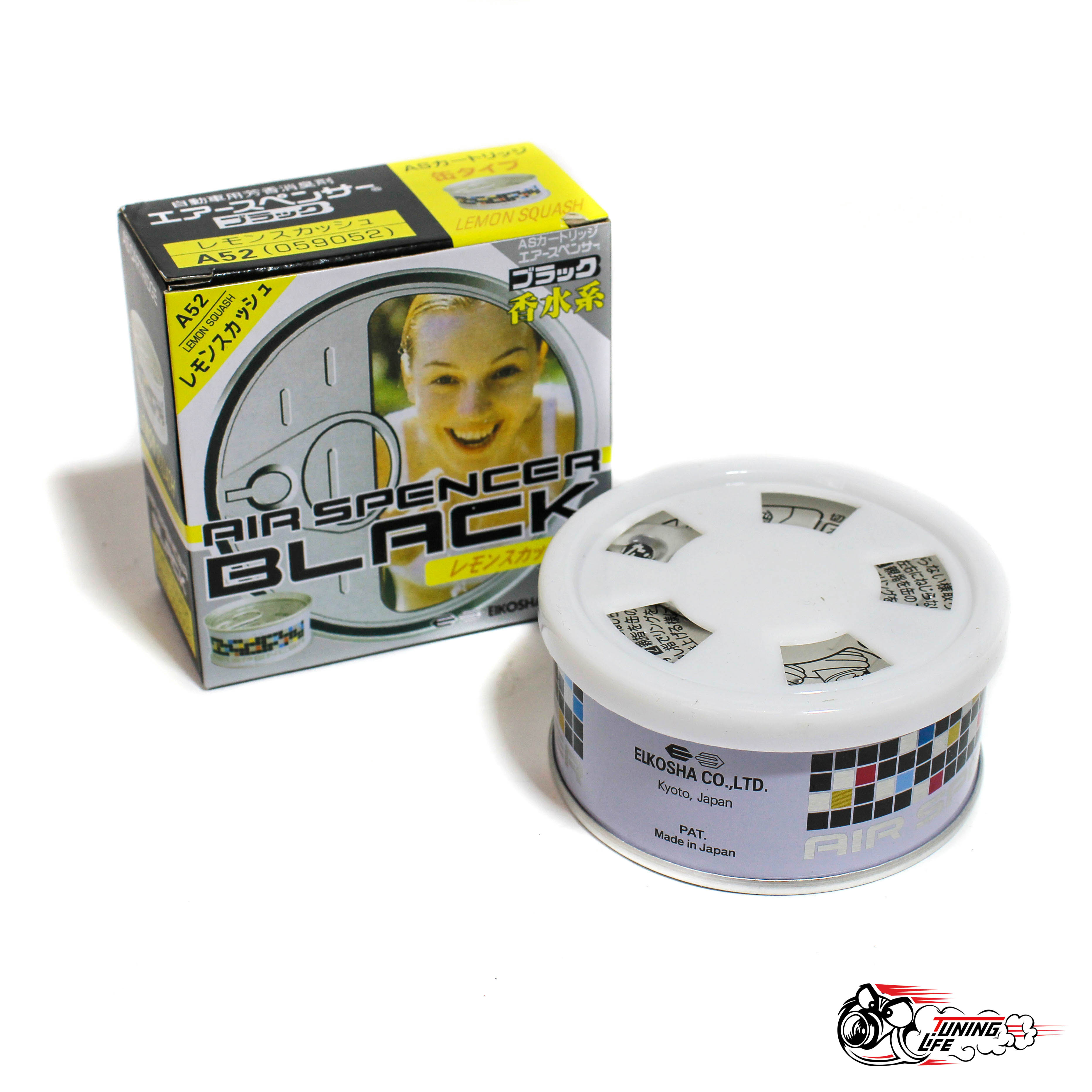 Ароматизатор Eikosha Air Spencer | Аромат Lemon Squash - Лимонная свежесть A-52