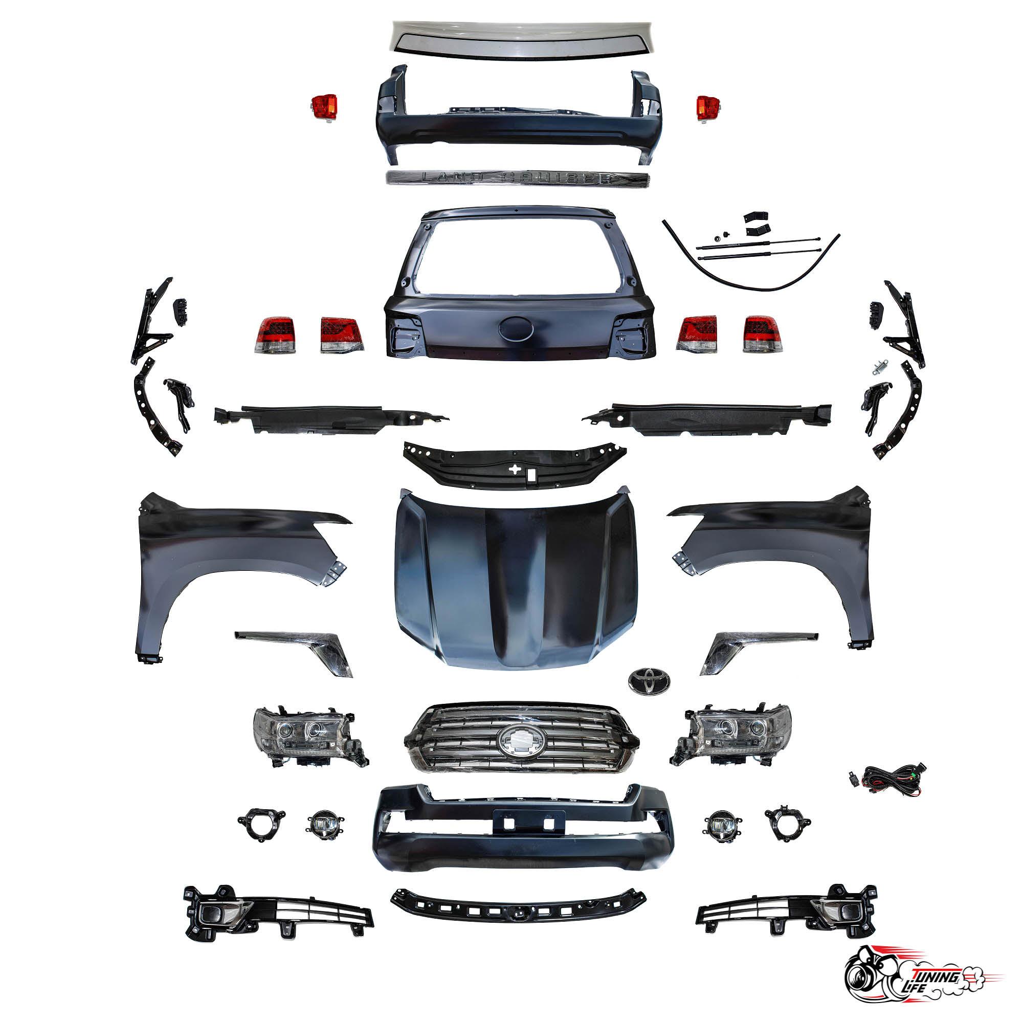 Комплект рестайлинга Toyota Land Cruiser 200 (GBT)