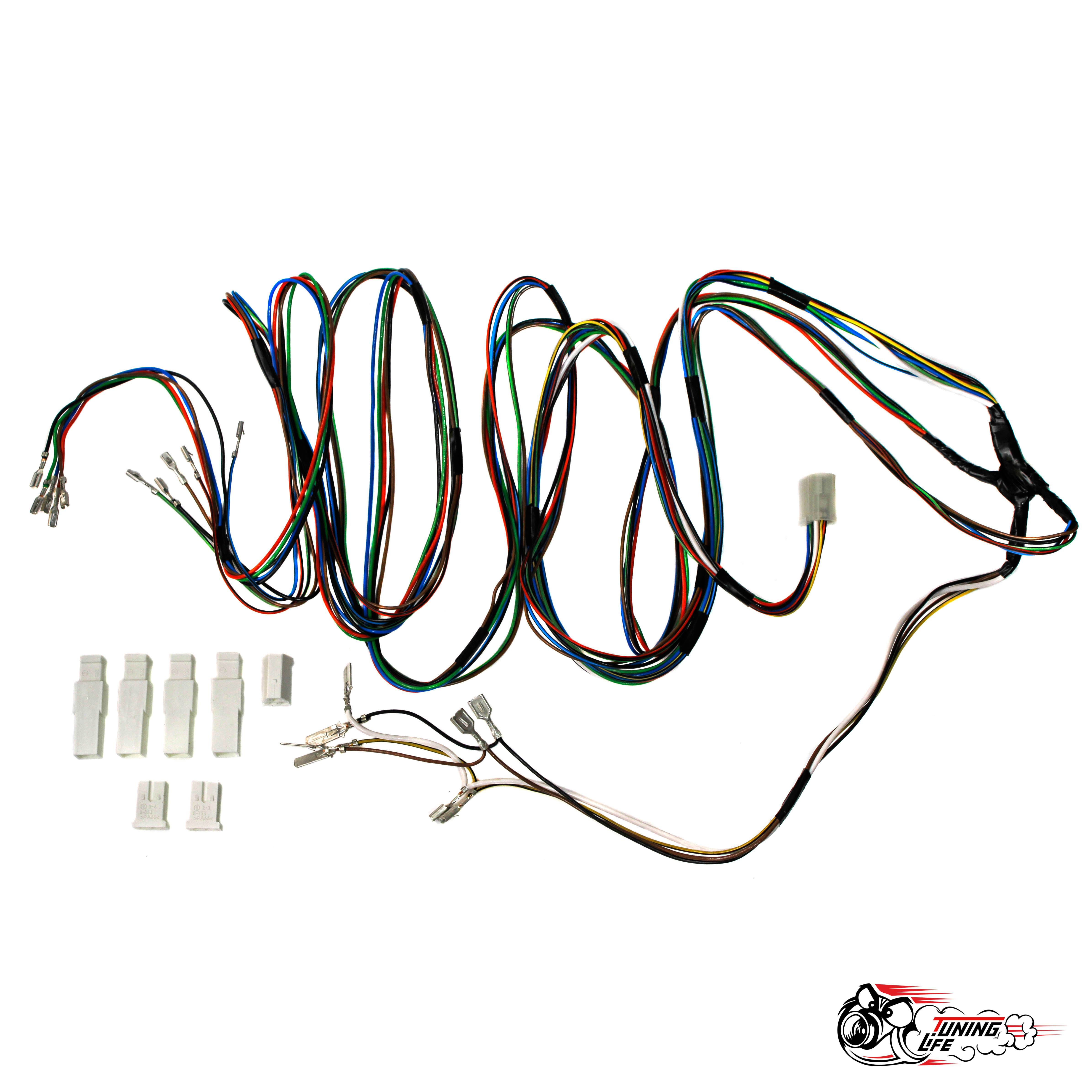 Проводка для подключения зеркал с электроприводом и подогревом ВАЗ