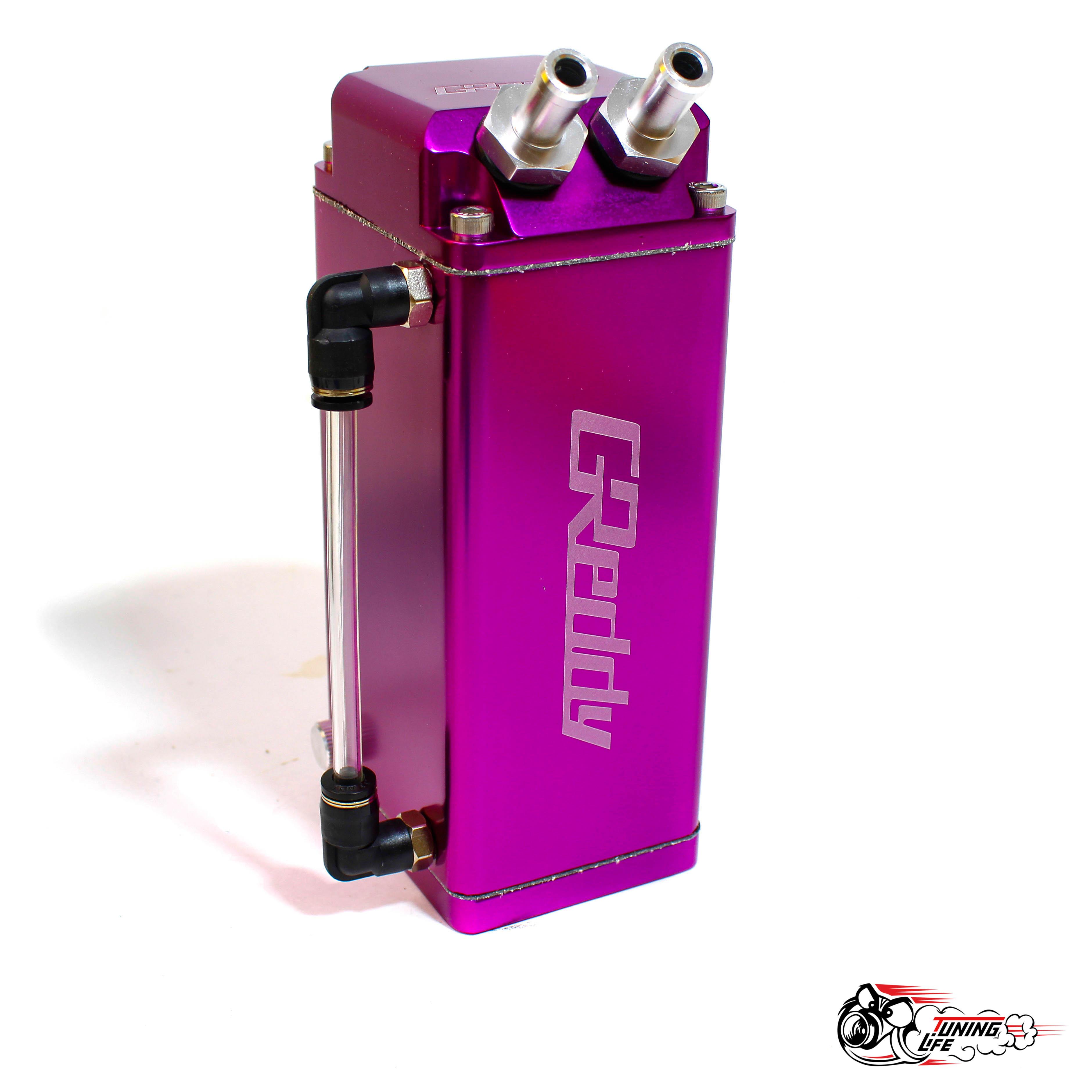 Маслоуловитель Greddy фиолетовый